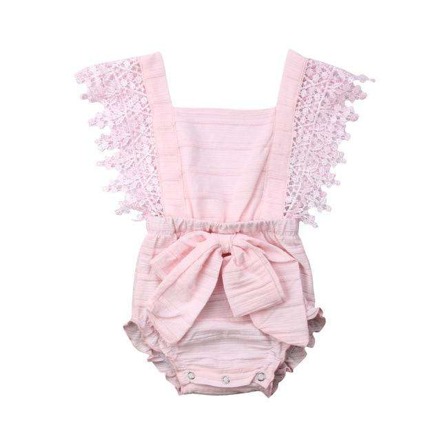Polly Romper - Pink
