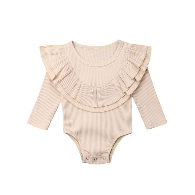 Collar Bodysuit - Cream