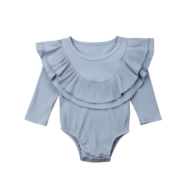 Collar Bodysuit - Blue