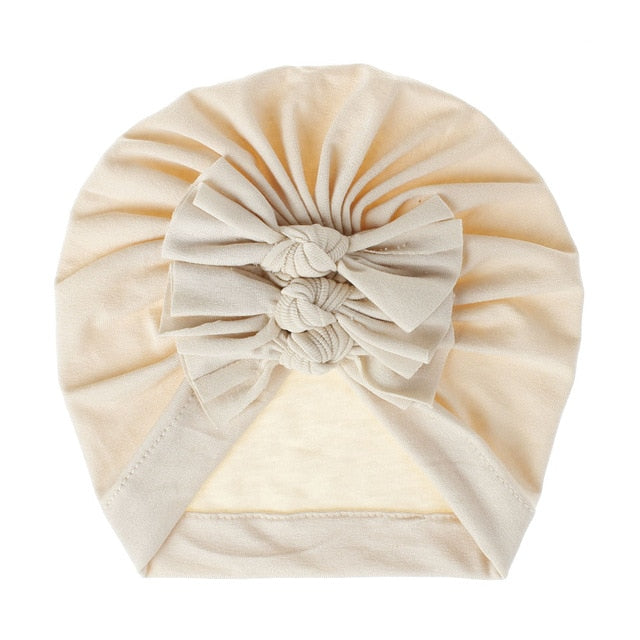 Triple Knot Turban - Cream