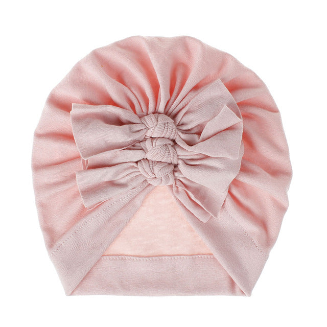 Triple Knot Turban - Light Pink
