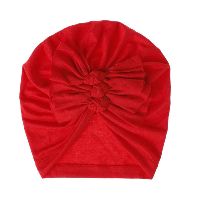 Triple Knot Turban - Red