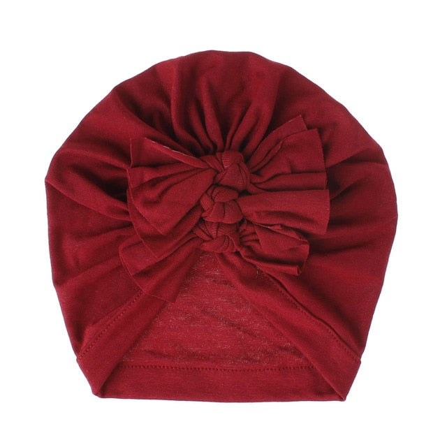 Triple Knot Turban - Dark Red