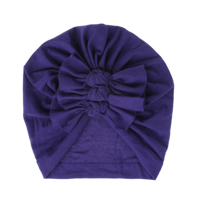 Triple Knot Turban - Purple