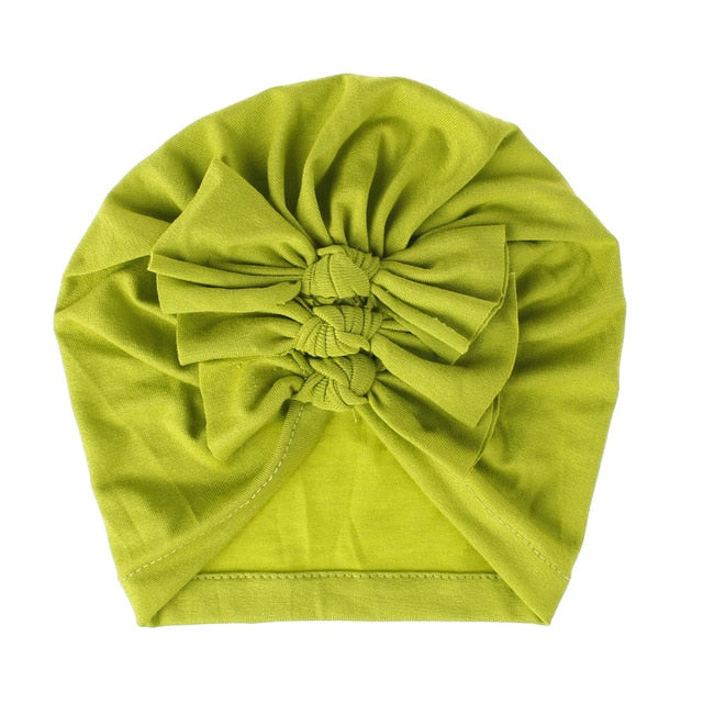 Triple Knot Turban - Bright Green
