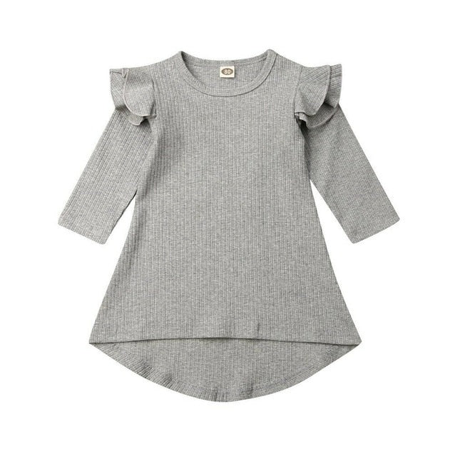 Flutter Swing Dress - Grey