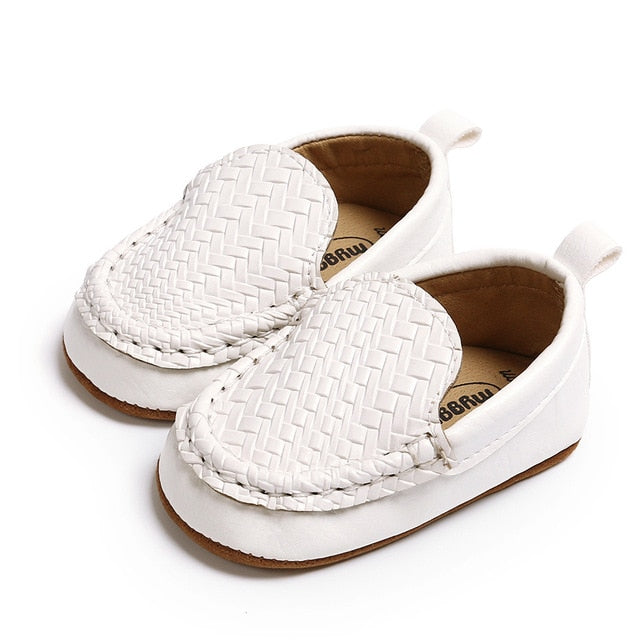 Mini Loafers - White