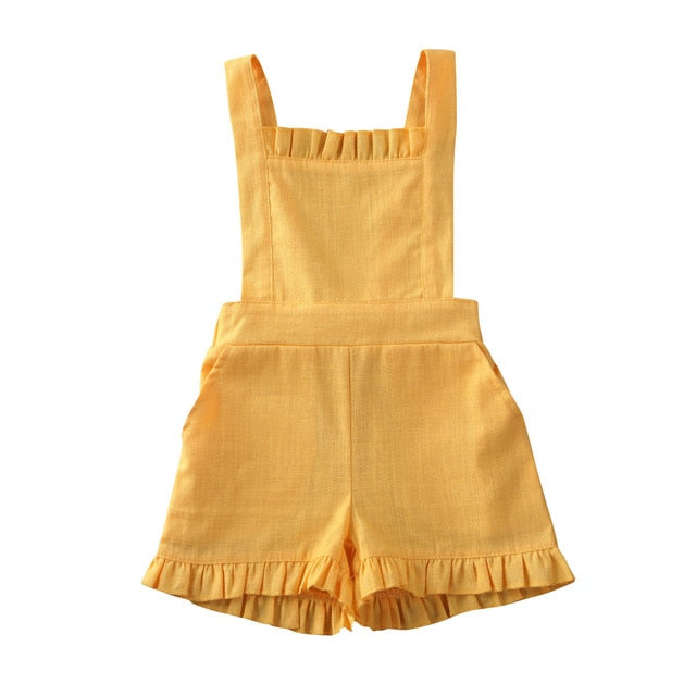 Lola Jumpsuit - Yellow