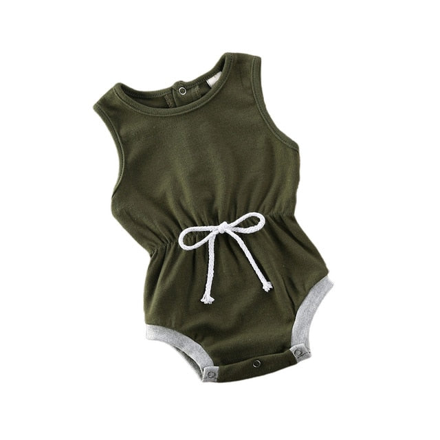 Retro Romper - Green