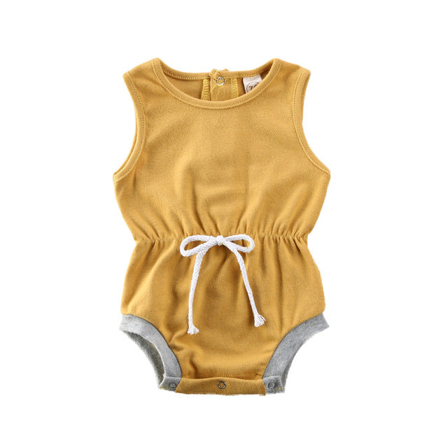 Retro Romper - Yellow