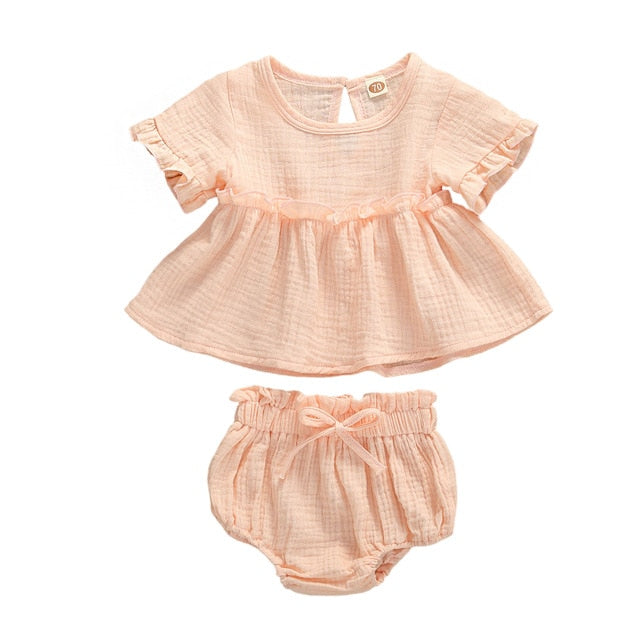 Meadow Bloomer Set - Peach Pink