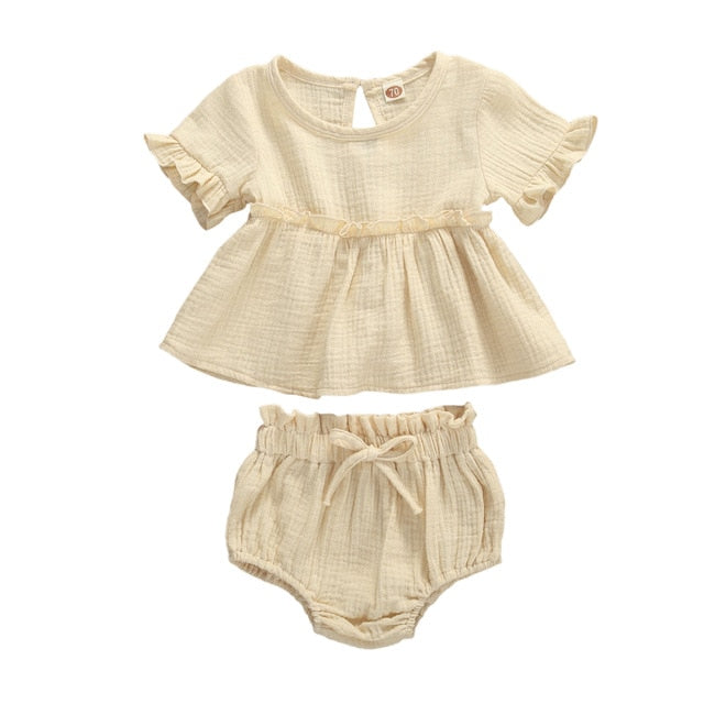 Meadow Bloomer Set - Oatmeal