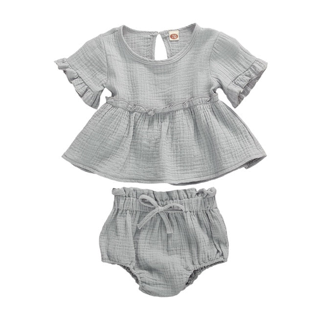Meadow Bloomer Set - Grey