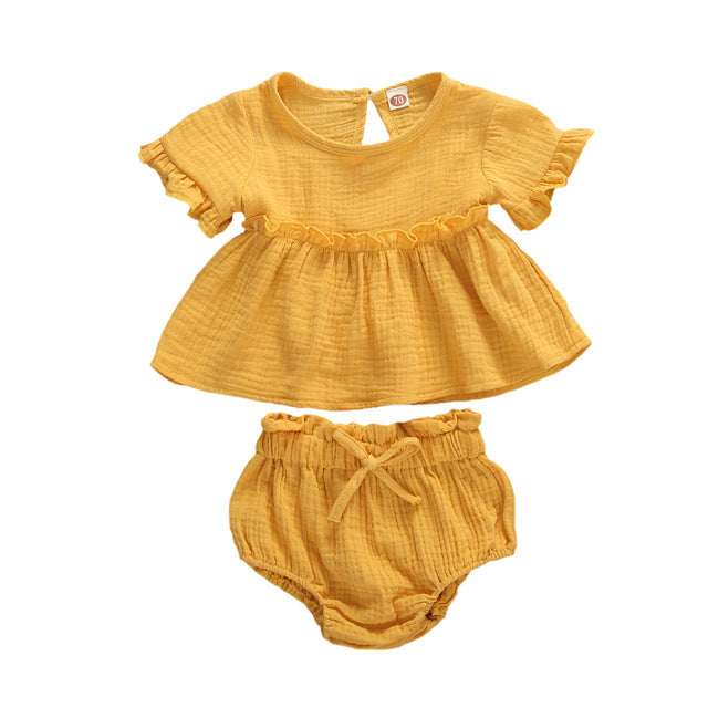 Meadow Bloomer Set - Mustard