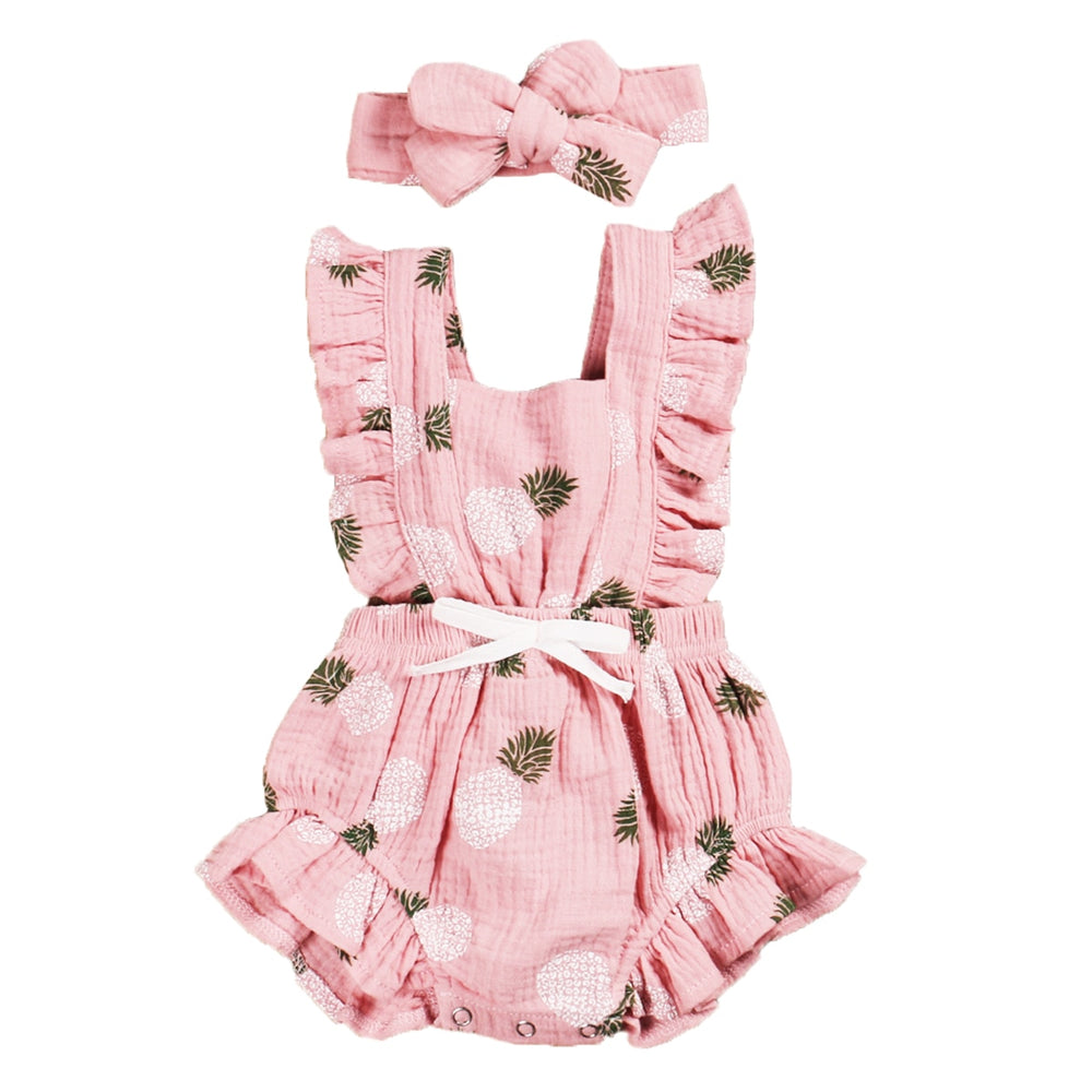 Grace Romper. - Pink Pineapple