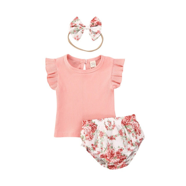 Halo Bloomer Set - Pink