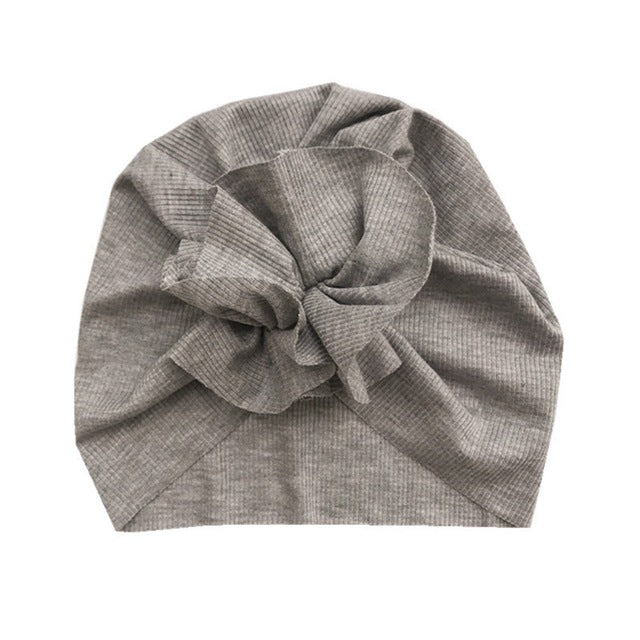 Ruffle Turban - Grey