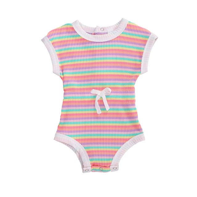 Romper - Stripe Bright