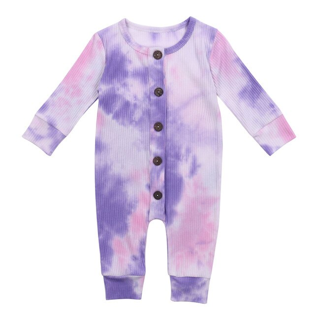 Tie Dye Onesie - Pink and Purple