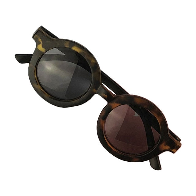 Circle Sunglasses - Tortoiseshell