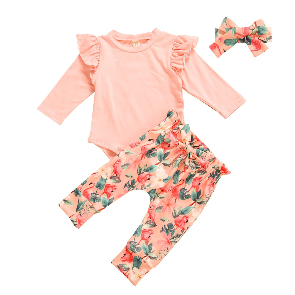 Flamingo Flutter Set