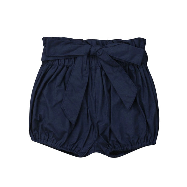 Crumple Shorts - Navy