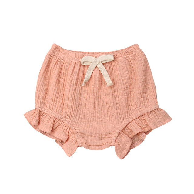 Ruffle Bloomers - Pink