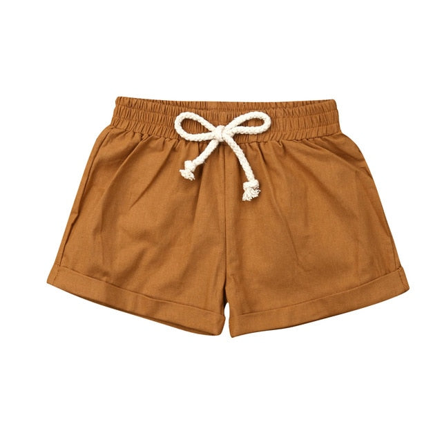 Cotton Shorties - Orange
