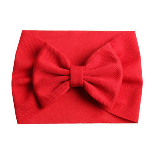 Bow Headband - Red