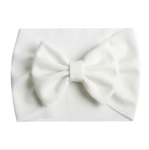 Bow Headband - White