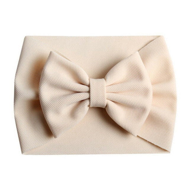 Bow Headband - Cream