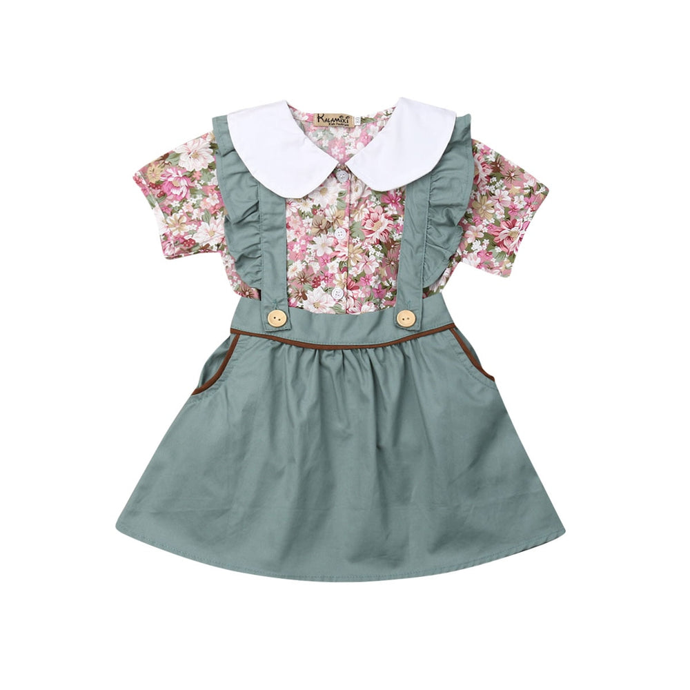 Melody Pinafore Set