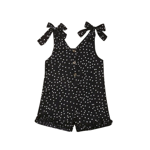 Beach Days Jumpsuit - Black Spot