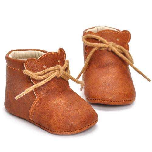 Tan Bear Booties