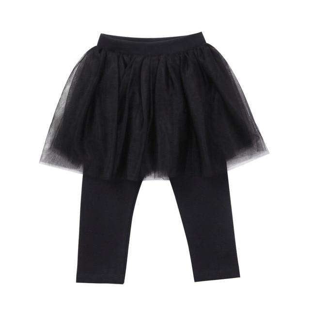 Tutu Leggings - Black