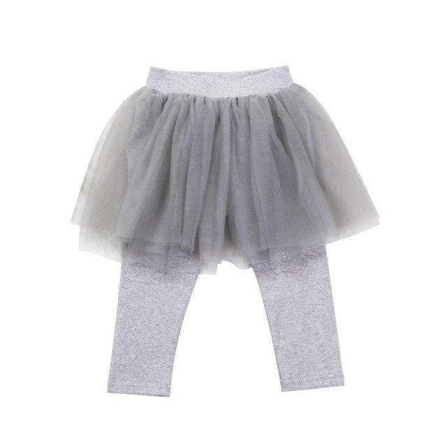 Tutu Leggings - Grey