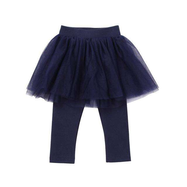 Tutu Leggings - Navy