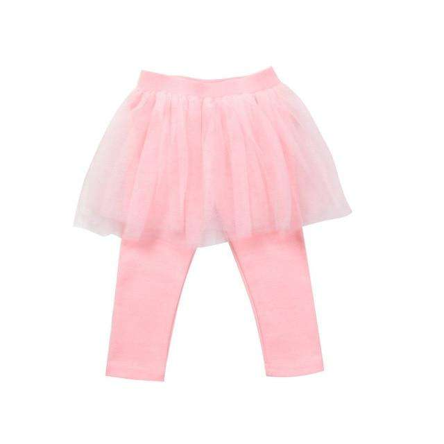Tutu Leggings - Pink