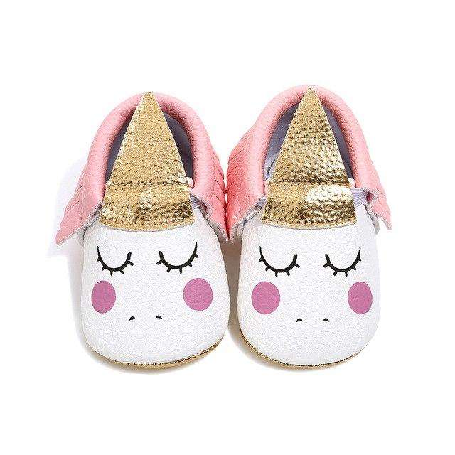 Unicorn Mocs - Pink