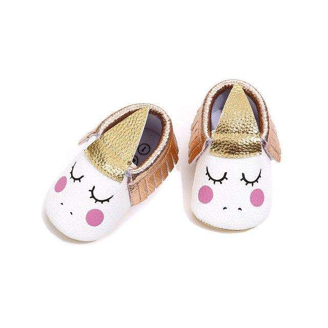 Unicorn Mocs - Rose Gold