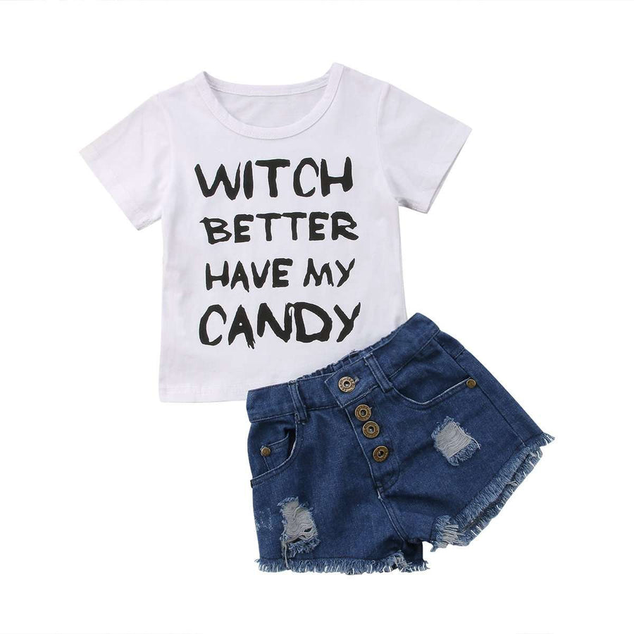 Witch Better Have My Candy Denim Set