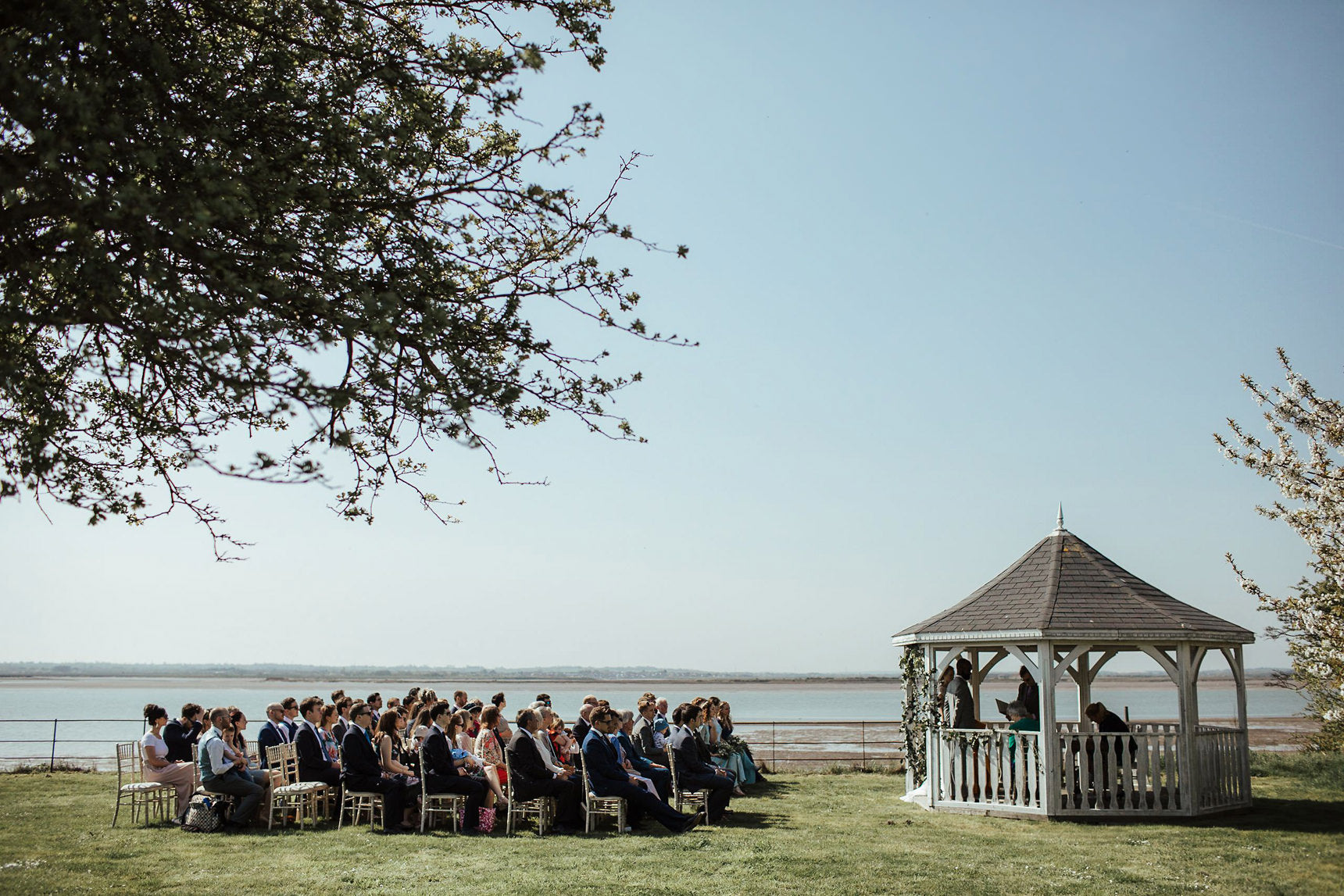 alternative wedding venue; Osea Island; intimate wedding venue; cool wedding venue; London wedding venue