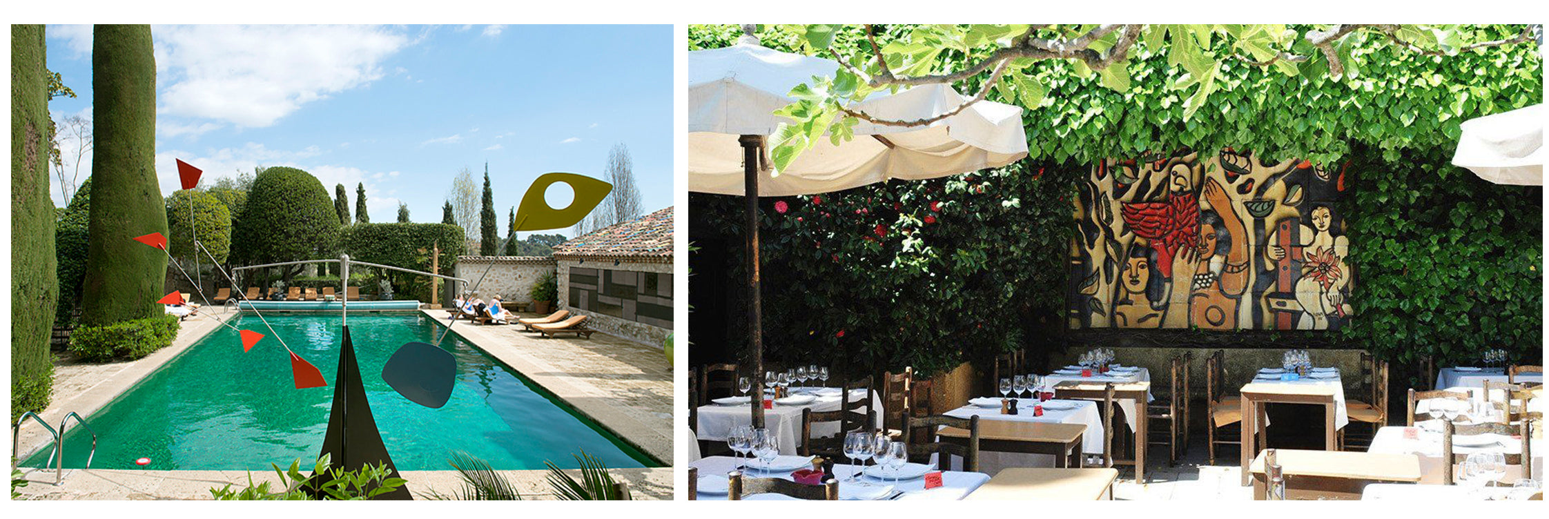 best restaurants in Provence France Colombo d'or