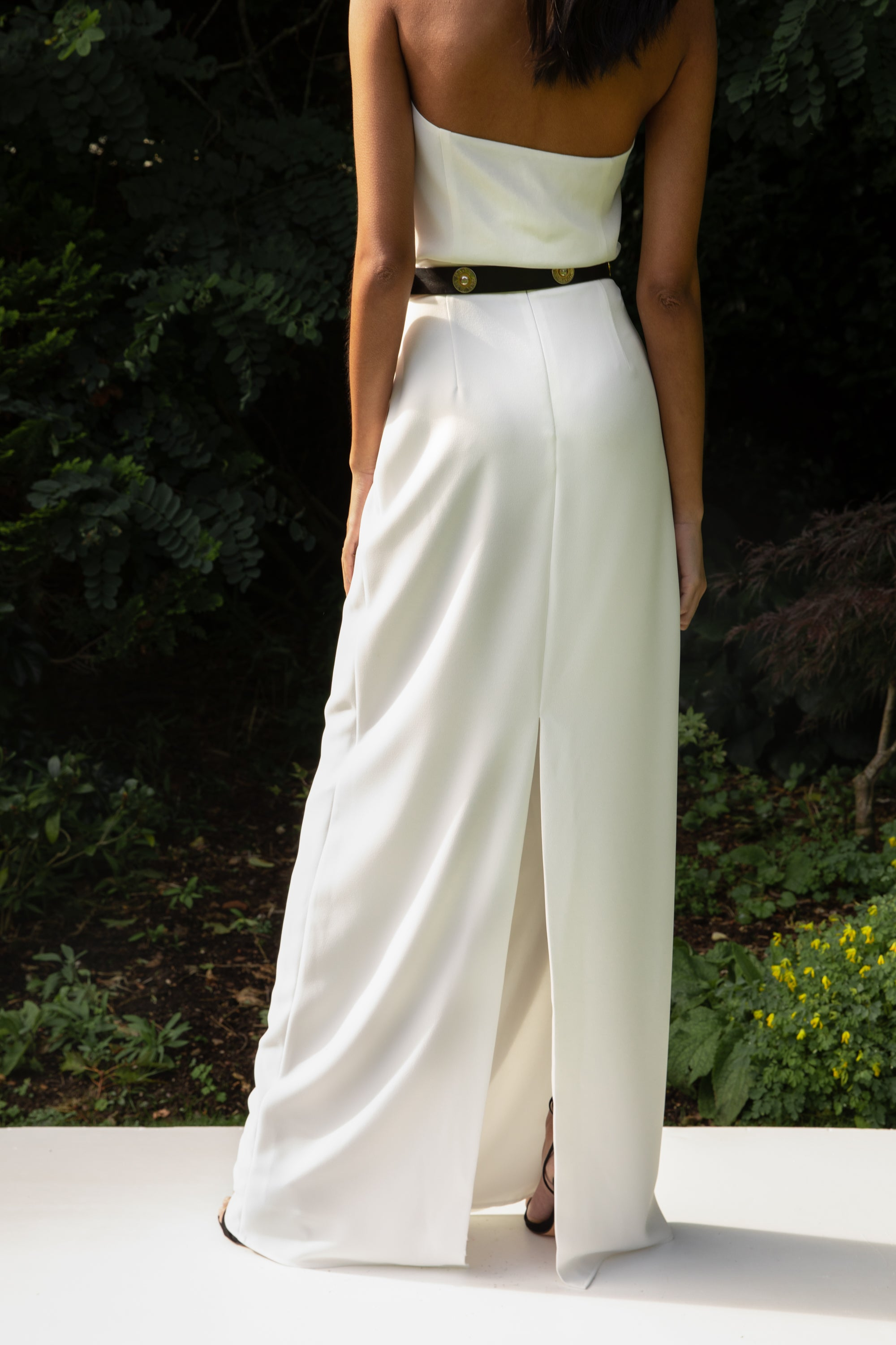 Load image into Gallery viewer, STYLE 029 // CREPE COLUMN SKIRT
