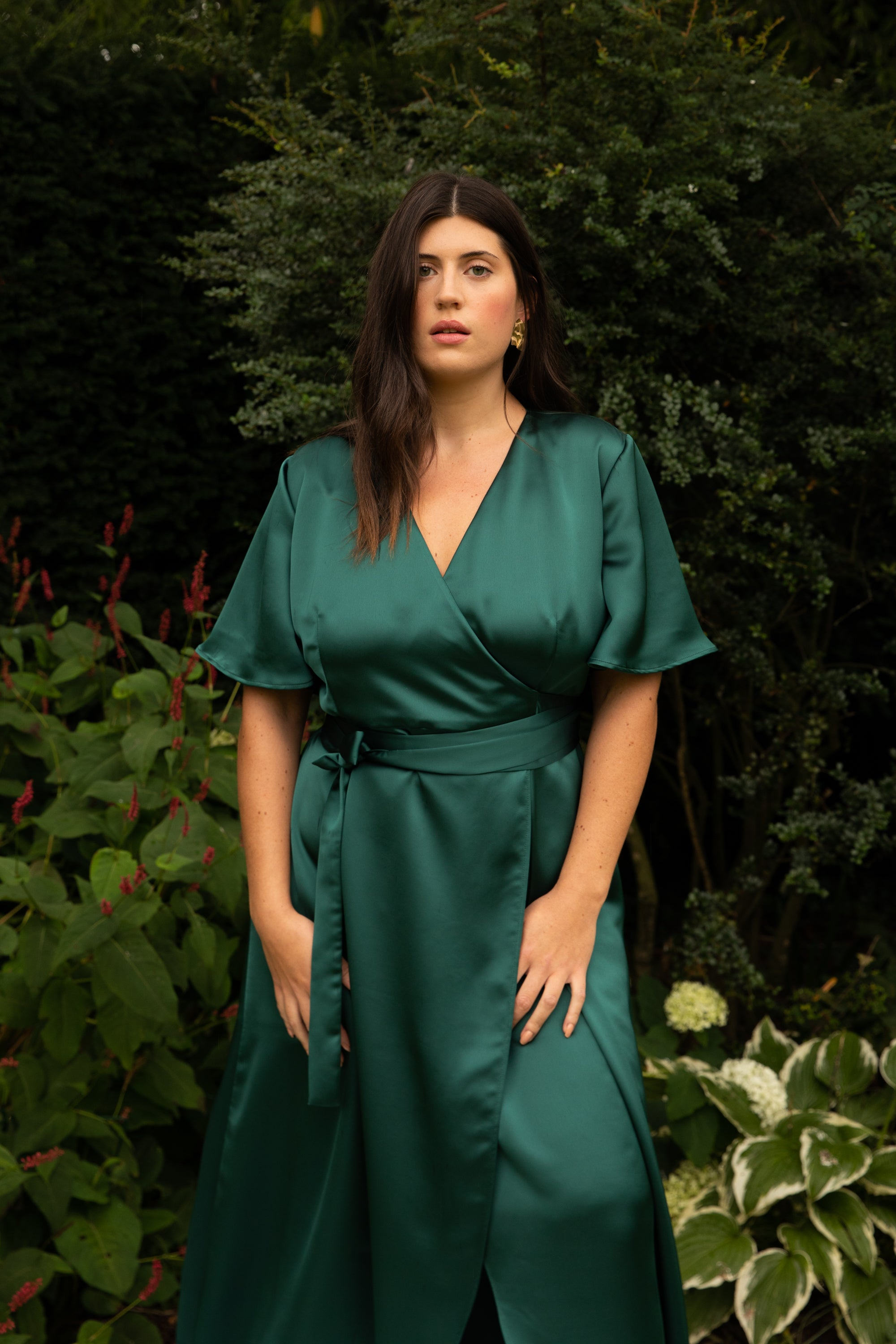 Load image into Gallery viewer, BM 010 // WRAP DRESS // MORE COLOURS