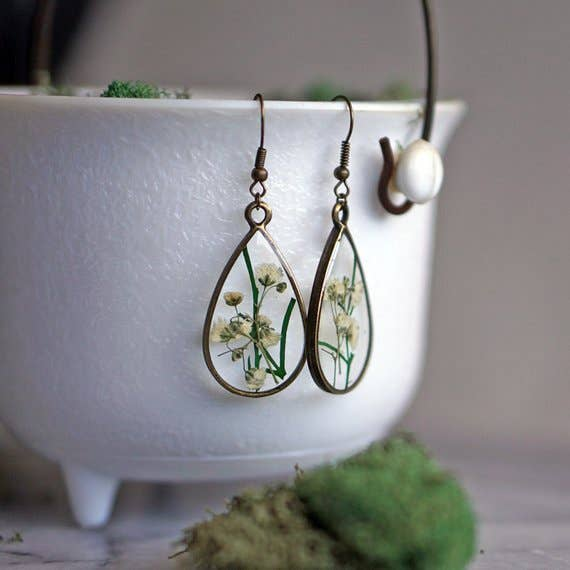 May Birth Flower Earrings