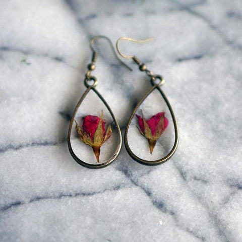June Birth Flower Earrings