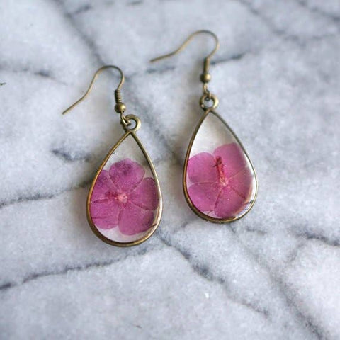 August Birth Flower Earrings