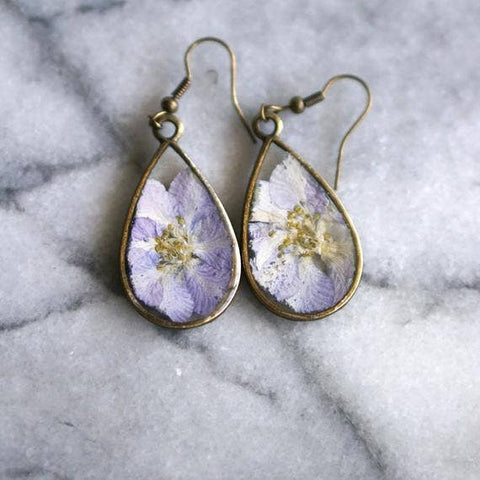 July Birth Flower Earrings