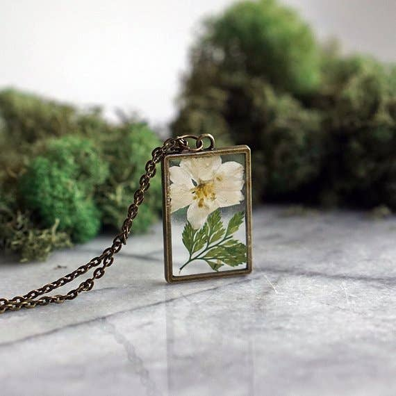 December Birth Flower Necklace